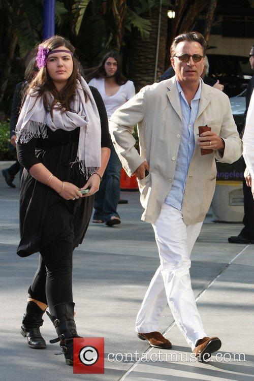 Andy Garcia and His Daughter 4