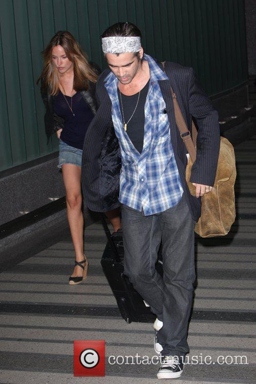 Colin Farrell and Girlfriend Alicja Bachleda Arrive At Lax Airport After Vacationing In Cabo 6