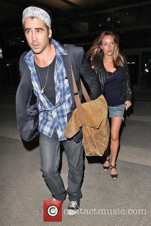 Colin Farrell and Girlfriend Alicja Bachleda Arrive At Lax Airport After Vacationing In Cabo 3