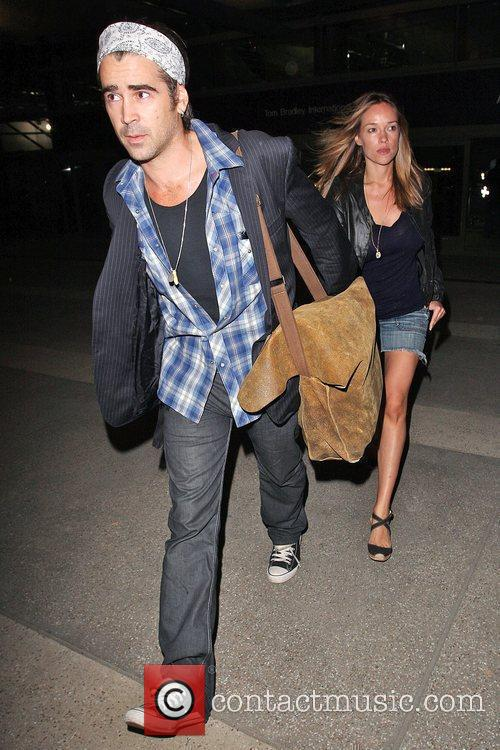 Colin Farrell and Girlfriend Alicja Bachleda Arrive At Lax Airport After Vacationing In Cabo 8