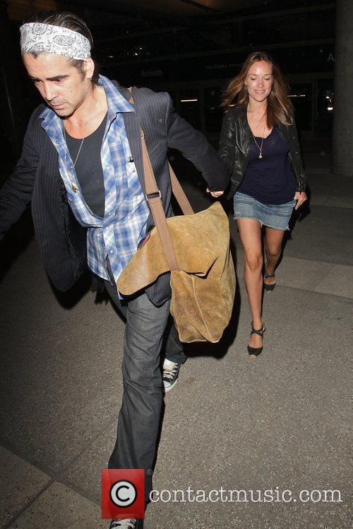 Colin Farrell and Girlfriend Alicja Bachleda Arrive At Lax Airport After Vacationing In Cabo 7