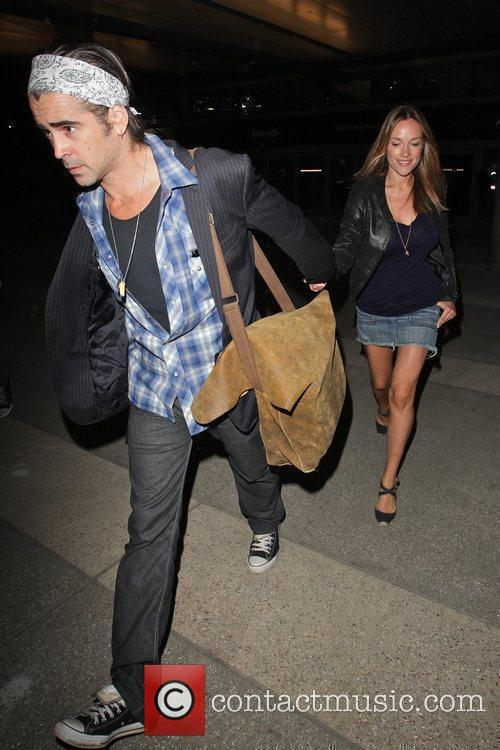 Colin Farrell and Girlfriend Alicja Bachleda Arrive At Lax Airport After Vacationing In Cabo 10