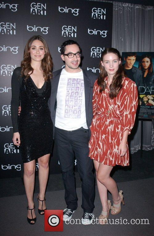 Emmy Rossum, David Brind and Rooney Mara