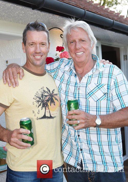Stuart Law and Eric Clapton 3