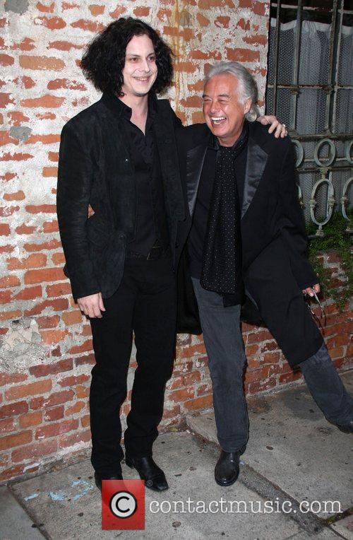 Jack White, Jimmy Page and Mann Village Theater 1
