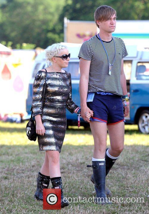 Little Boots, Glastonbury Festival and Glastonbury