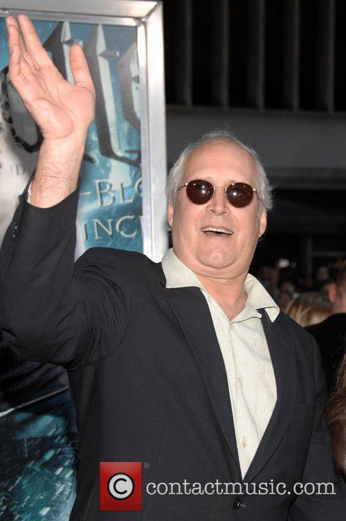 Chevy Chase, Harry Potter and Ziegfeld Theatre