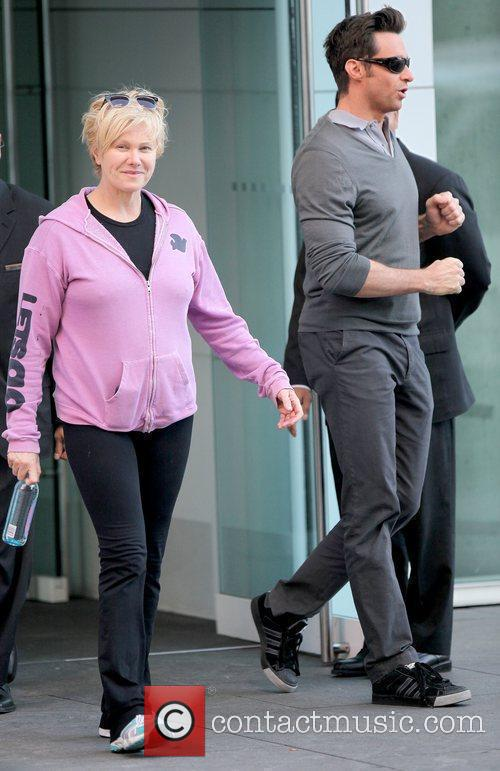 Deborra-lee Furness and Hugh Jackman 1