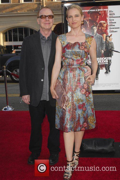 Danny Elfman and Bridget Fonda