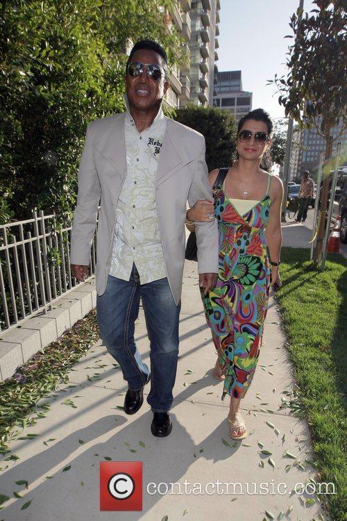 Jermaine Jackson and Halima Rashid 1