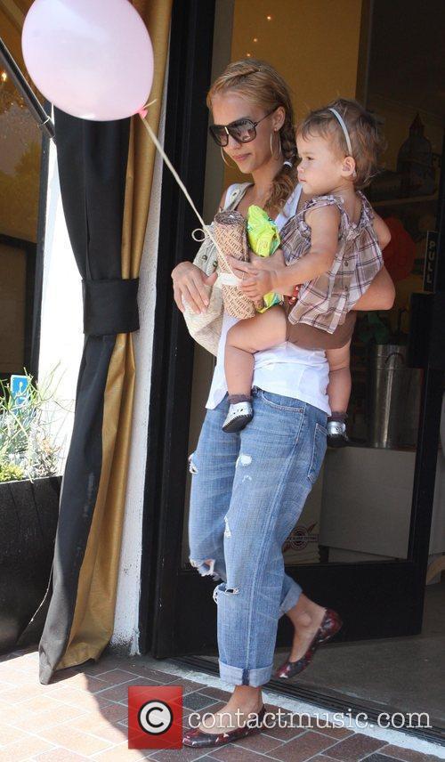 Jessica Alba and Her Daughter Honor Marie Warren 2