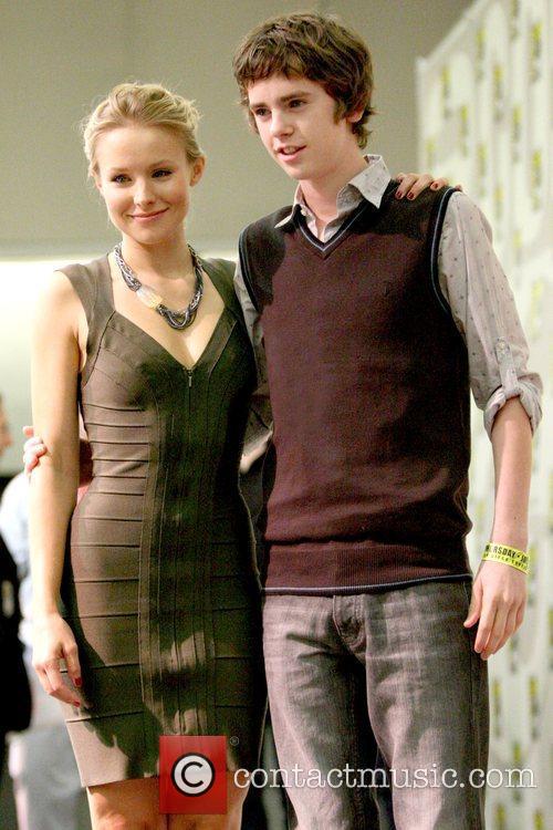 Kristen Bell and Freddie Highmore
