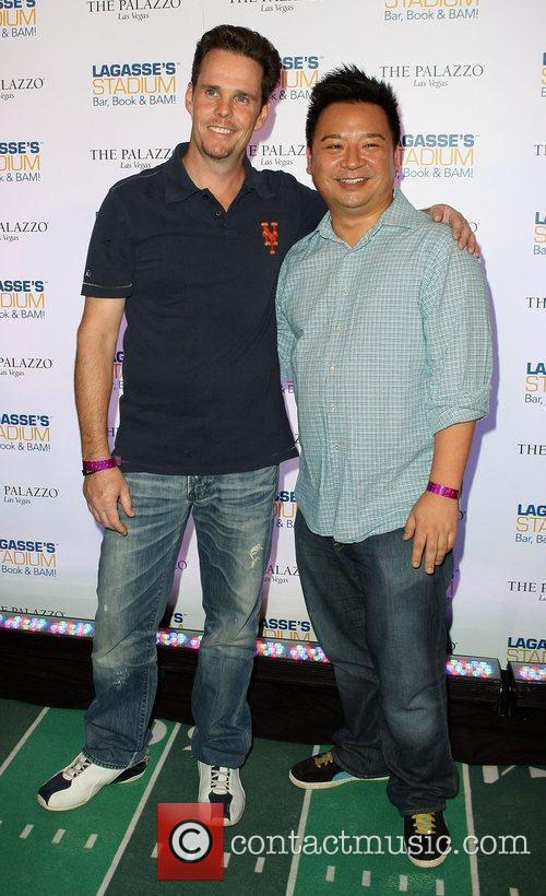 Kevin Dillon and Rex Lee 3