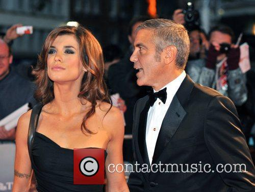 George Clooney and Elisabetta Canale