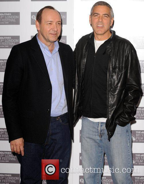 George Clooney and Kevin Spacey