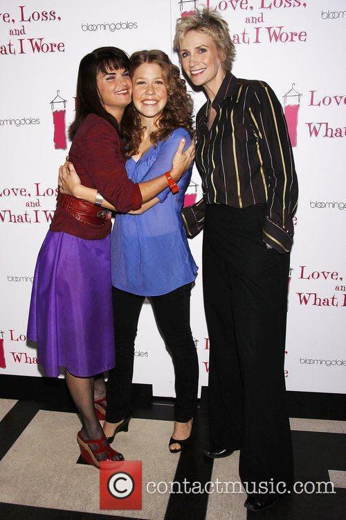 Mary Birdsong, Lisa Joyce and Jane Lynch