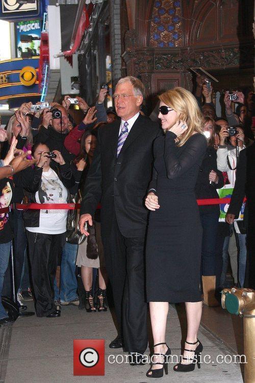 David Letterman and Madonna 4