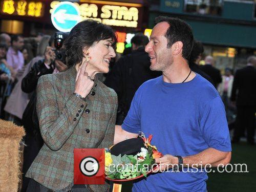 Harriet Walter and Prince Charles