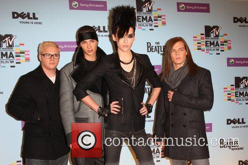 Tokio Hotel, Mtv and Mtv european music awards