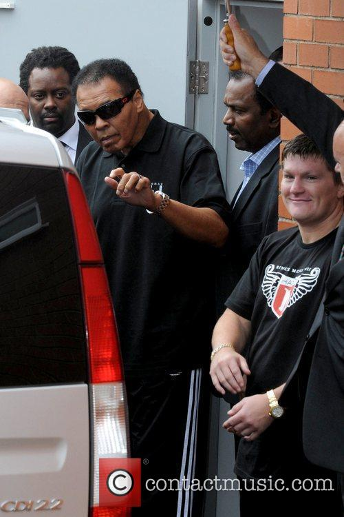 Muhammad Ali and Ricky Hatton 7