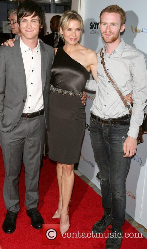 Logan Lerman and Renee Zellweger 1
