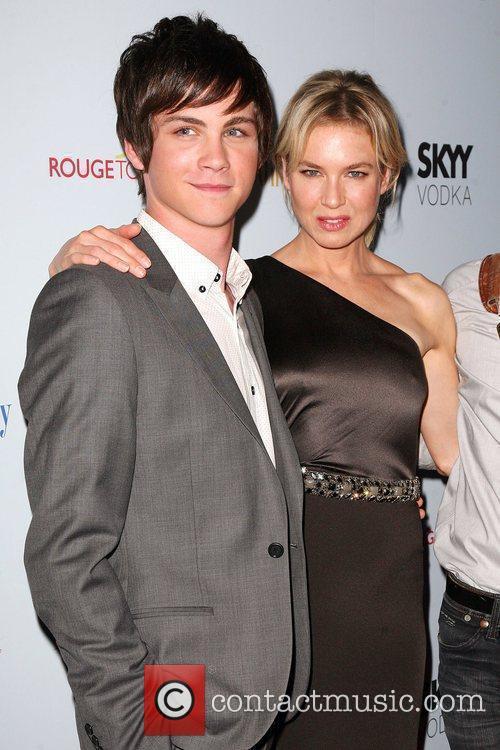 Logan Lerman and Renee Zelweger 8