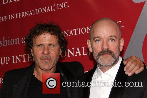 Renzo Rosso and Michael Stipe