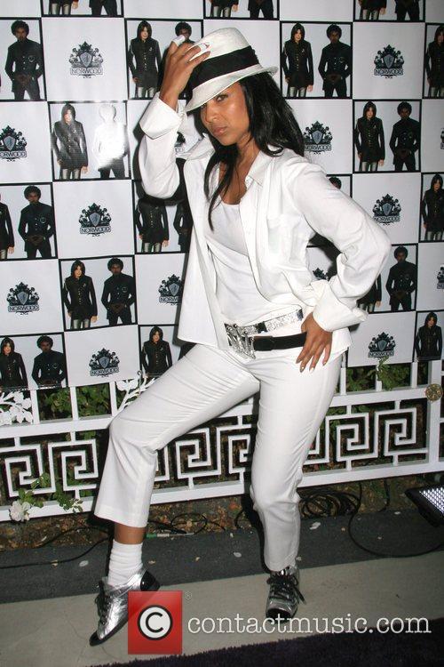 Lisa Raye and Michael Jackson