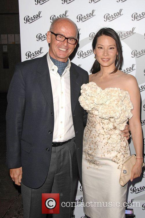 Lucy Liu and Pierre