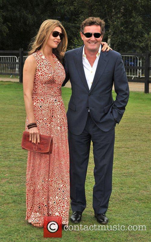 Celia Walden and Piers Morgan
