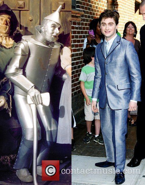 Harry Potter, David Letterman, Daniel Radcliffe, The Wizard Of Oz and Ed Sullivan Theatre