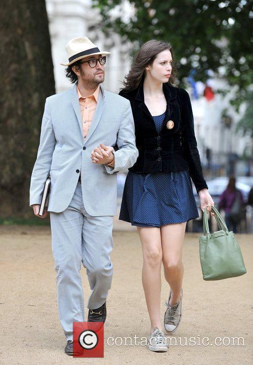 Sean Lennon and Girlfriend Charlotte Kemp Muhl