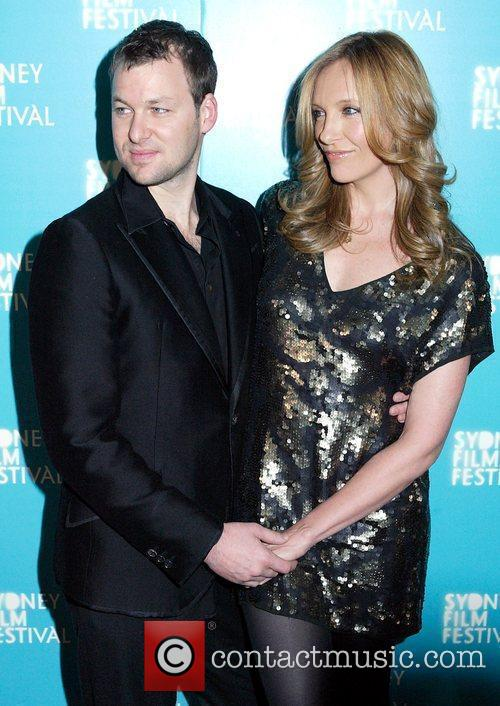 Dave Galafassi and Toni Collette