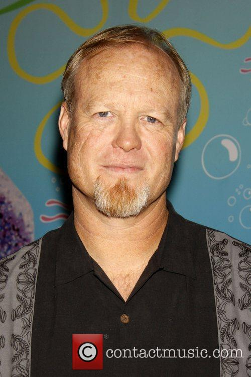 Bill Fagerbakke and Spongebob Squarepants