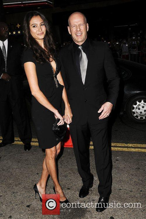 Bruce Willis and Emma Hemming 4