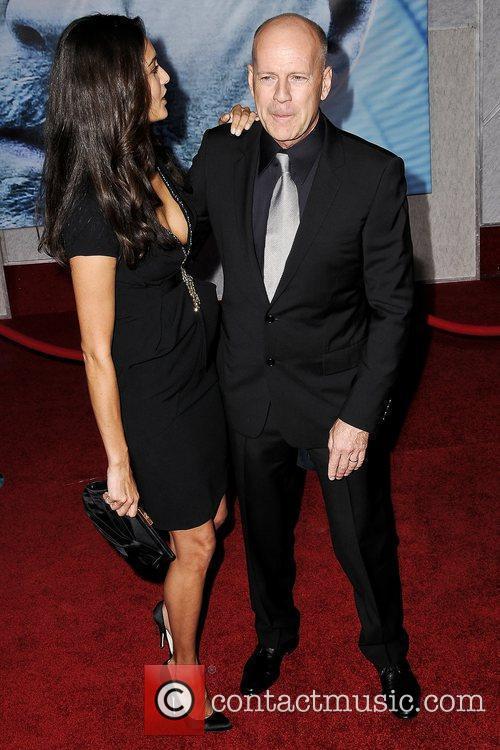Bruce Willis and Emma Hemming 3