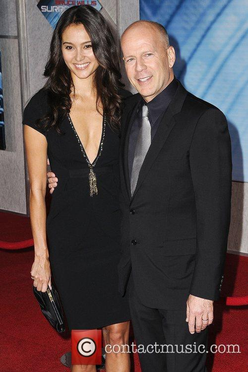 Bruce Willis and Emma Hemming 2