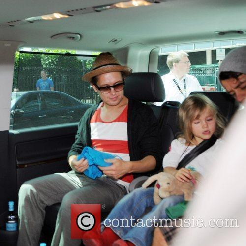 Mark Owen, Lola Donald and Howard Donald