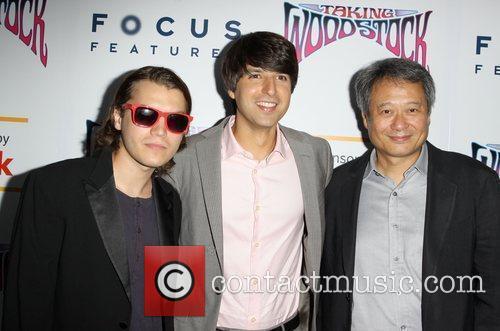 Emile Hirsch, Demetri Martin and Ang Lee