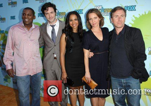 Tim Roth and The Cast From Lie To Me 2