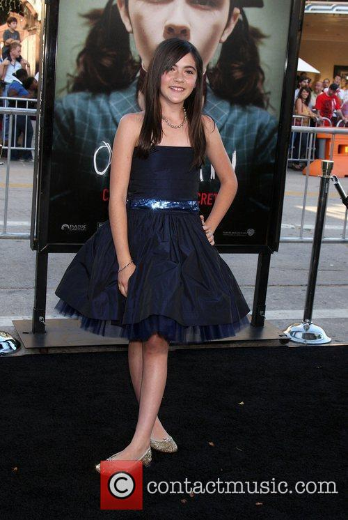 Isabelle Fuhrman and Mann Village Theater 3