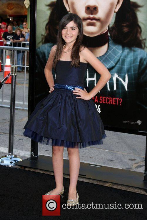 Isabelle Fuhrman and Mann Village Theater 6