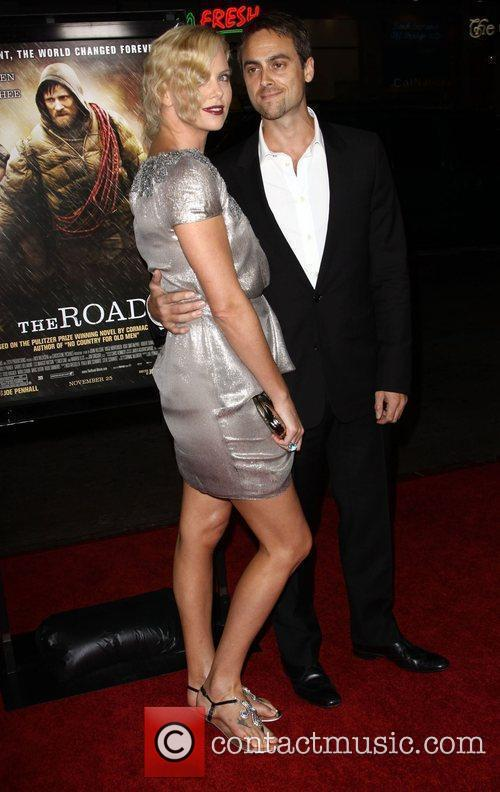 Charlize Theron, Afi and Stuart Townsend