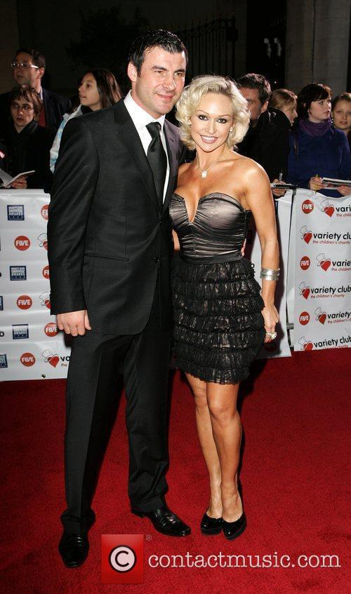 Joe Calzaghe and Kristina Rihanoff 3
