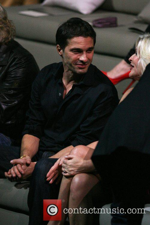 Olivier Martinez and Sharen Turney Of Ceo Of Victoria's Secret