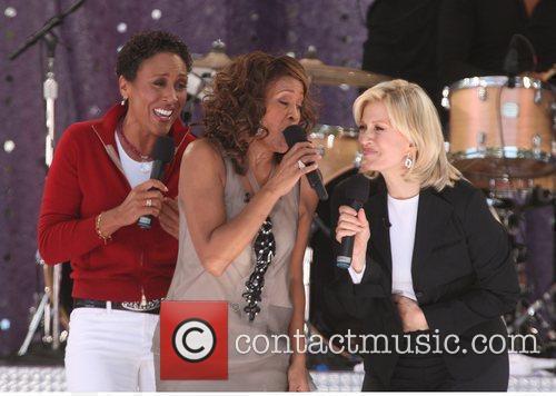 Robin Roberts and Whitney Houston 2