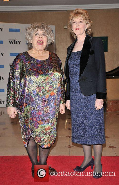 Miriam Margolyes and Patricia Hodge