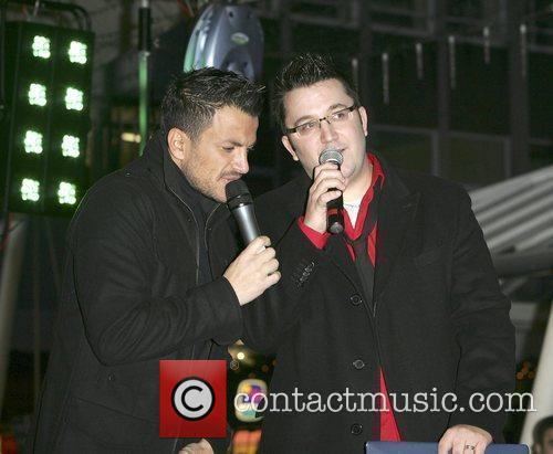 Peter Andre and Wes 11