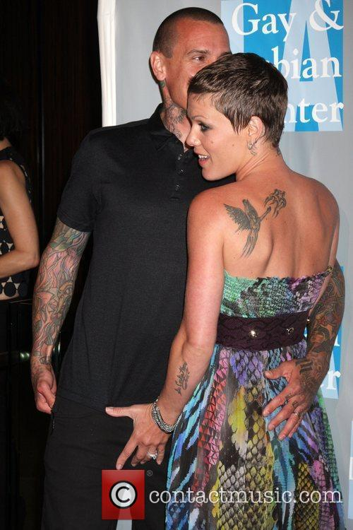 Carey Hart, Alecia Moore and Pink