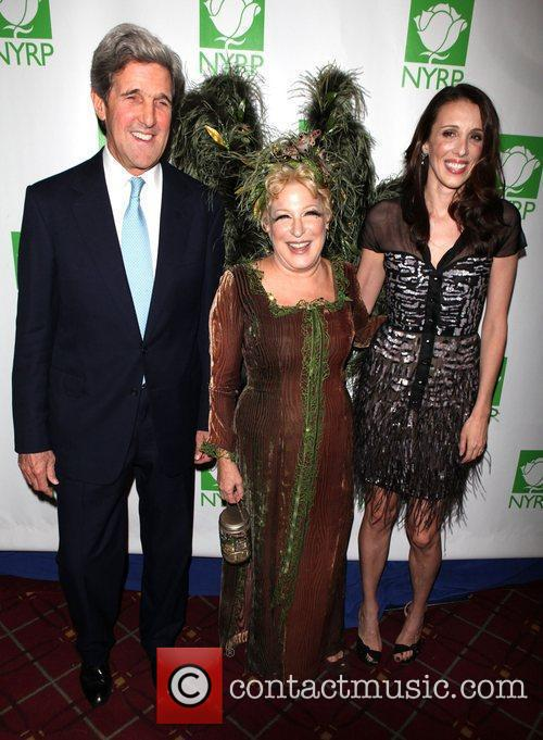 John Kerry and Bette Midler